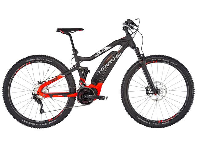 HAIBIKE SDURO FullNine 10.0 Bicicletta elettrica Full Suspension rosso/nero